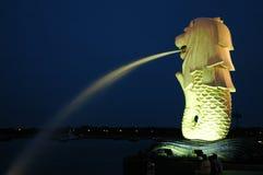 merlion Σινγκαπούρη Στοκ Φωτογραφίες