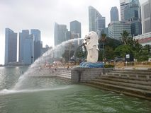 Merlion Fotografia Stock