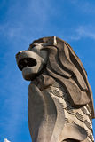 Merlion. Is one landmark of singapore Royalty Free Stock Photo
