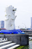 Merlion lizenzfreie stockfotos