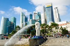 Merlion Stock Photography