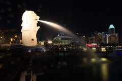 Merlion Fotografia Royalty Free