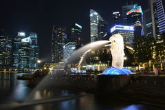 Merlion Stock Foto's