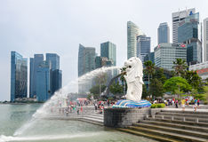 Merlion Stockbilder