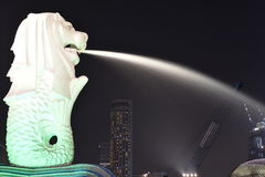 Merlion Foto de Stock Royalty Free