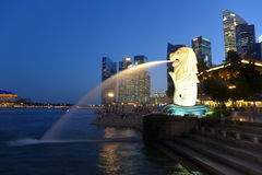 Merlion Fotografia de Stock Royalty Free