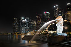 Merlion Stock Fotografie