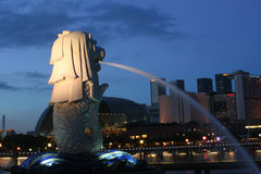 Merlion Images stock