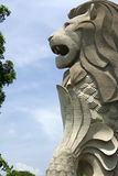 Merlion de Singapur Imagen de archivo