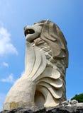 Merlion, isla de Sentosa Foto de archivo