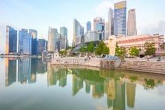 Merlion am Jachthafen-Schacht, Singapur Lizenzfreie Stockbilder