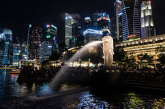 The Merlion Stock Image