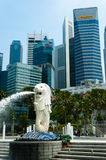 merlion park Fotografia Stock