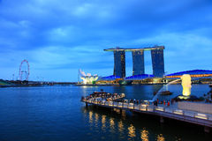 Merlion park Royalty Free Stock Image