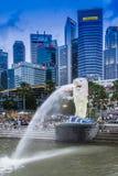 merlion parkowy Singapore Obraz Stock