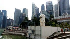 merlion parkowy Singapore Zdjęcia Royalty Free