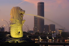 merlion poryki Obraz Royalty Free