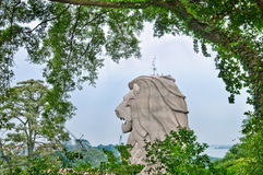 Merlion, Singapore Royalty Free Stock Image