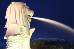 merlion singapore Royaltyfri Foto