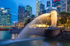 merlion singapore Стоковая Фотография RF