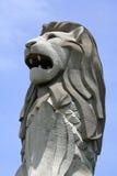 merlion singapore стоковое изображение