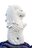 The Merlion Singapore isolated Royalty Free Stock Photography