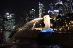 The Merlion, Singapore Royalty Free Stock Image