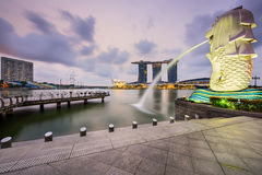 Merlion in Singapore Royalty Free Stock Photos