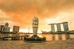 The merlion Royalty Free Stock Photo