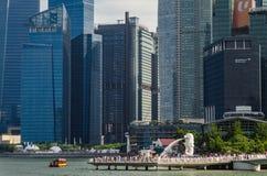 Merlion Singapur obrazy royalty free
