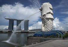 Merlion, Singapur Fotografía de archivo