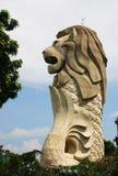 Merlion statua przy Sentosa Singapur Zdjęcie Royalty Free