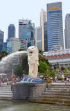 The Merlion statue, Singapore Royalty Free Stock Photography