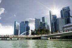Merlion Statue,Singapore Stock Image
