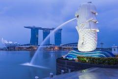 Merlion statue, Singapore Royalty Free Stock Image