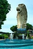 Singapore merlion Stock Photos