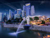 Merlion Royalty Free Stock Images