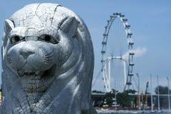 Merlion van Singapore Stock Afbeeldingen