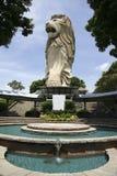 Merlion van Singapore Royalty-vrije Stock Afbeeldingen