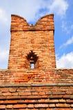 Merlon av den Castelvecchio bron Royaltyfria Foton