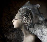 mermaid девушки Стоковое Изображение RF