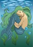 mermaid Royaltyfri Bild