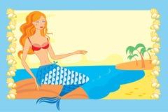 The Mermaid Royalty Free Stock Photo