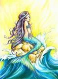 mermaid Стоковая Фотография
