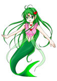 mermaid stock illustrationer