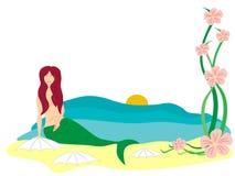 mermaid Royaltyfri Fotografi