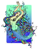 mermaid Royaltyfria Bilder