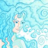mermaid Royalty-vrije Stock Foto's