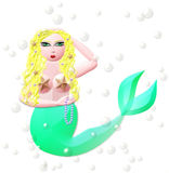 Mermaid Royalty Free Stock Photography