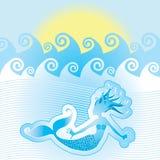 mermaid Стоковая Фотография RF